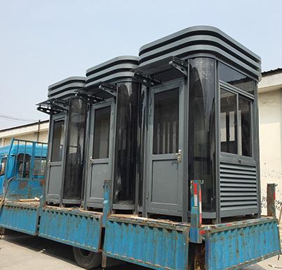 国家会展中心钢结构岗亭
