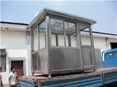 不锈钢岗亭-002