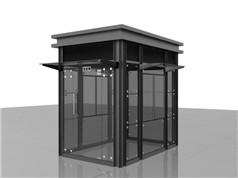 钢结构岗亭-026
